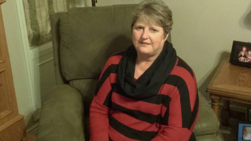 Cheryl Sturdevant was surprised by her livedoid vasculitis diagnosis.