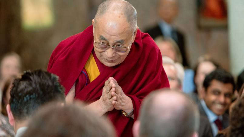 "His Holiness the Dalai Lama gives a talk on ""Compassion in Health Care"" to Mayo Clinic staff."