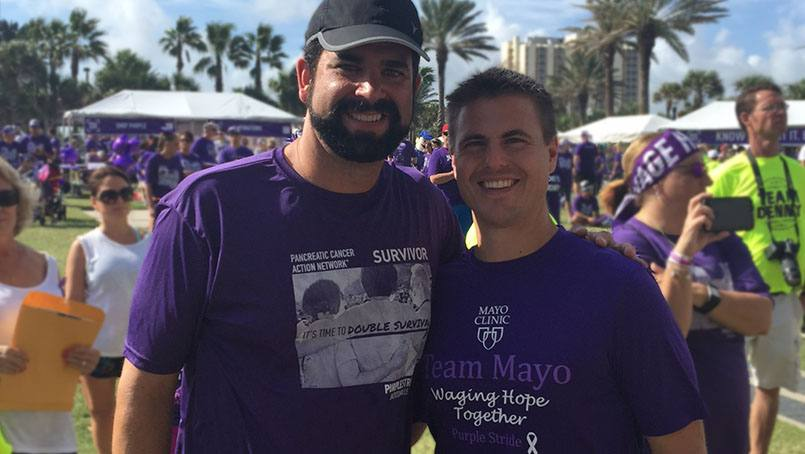 Diagnosed with pancreatic cancer in his 40s, Richard Carvajal looked to Mayo Clinic for expert care and treatment.