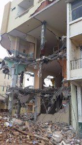 Portoviejo after the earthquake.
