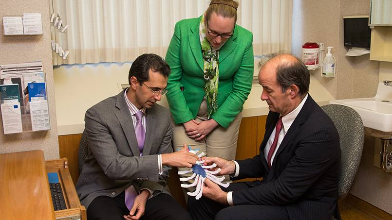 Using advanced 3D models to prepare for complex surgeries helps Mayo Clinic surgeons precisely tailor treatment to individual patients and their unique needs.