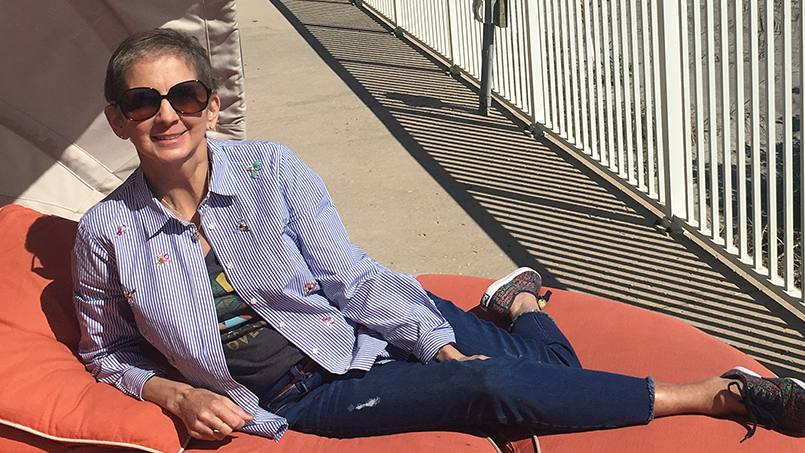 For more than a decade, leukemia has been part of Kim DeBolt's life. Although the diagnosis brought with it dozens of chemotherapy sessions and two stem cell transplants, her care at Mayo Clinic also put her on the path to a fulfilling career.