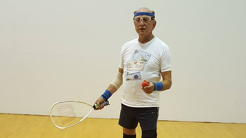 When he began to have serious shoulder pain, James Biond feared his decades-long enjoyment of racquetball might come to an end. But his Mayo Clinic surgeon put those fears to rest. Now after shoulder replacement, James has returned to his favorite sport pain-free.