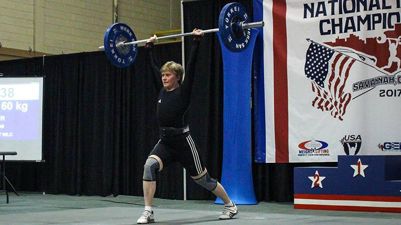Mastectomy Can't Keep Marianne Huebner Out of Competitive