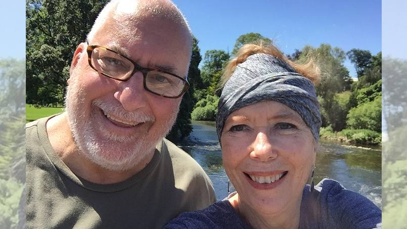 Janie Magruder reflects on her cancer diagnosis and treatment, including a crucial stem cell donation from an unlikely source that helped to save her life.
