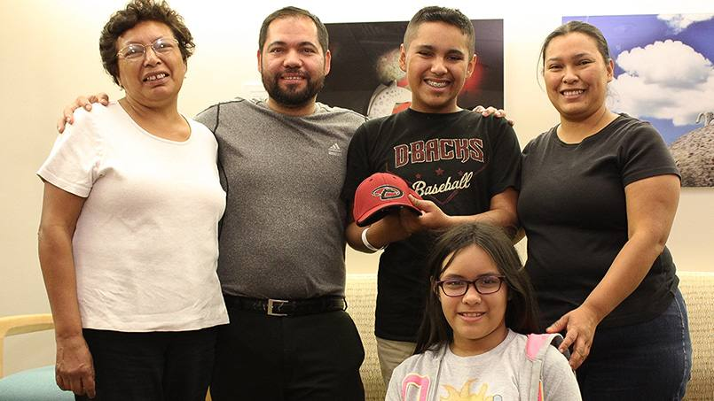 It was a long road through proton beam therapy for 14-year-old Octavio Moreno Lara. But compassionate care from his Mayo Clinic team, coupled with some fun events, lightened the mood along the way.