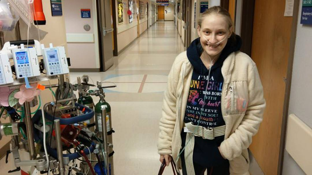 Aryn Clark needed a heart-lung transplant, but the wait was almost sure to be a long one. Advanced technology that did the work of her heart and lungs during that wait kept her healthy enough to be ready once transplant organs became available.