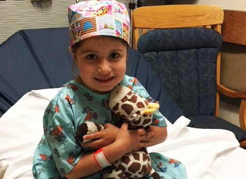 Going All Out to Ease a Young Patient's Surgical Fears