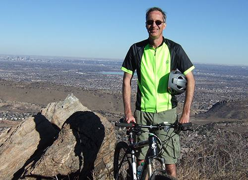 Cancer Worries Behind Him, Mountain Biker is Back to Tackling Trails