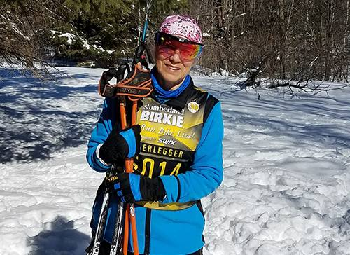 Skier Back on Track After Knee Surgeries