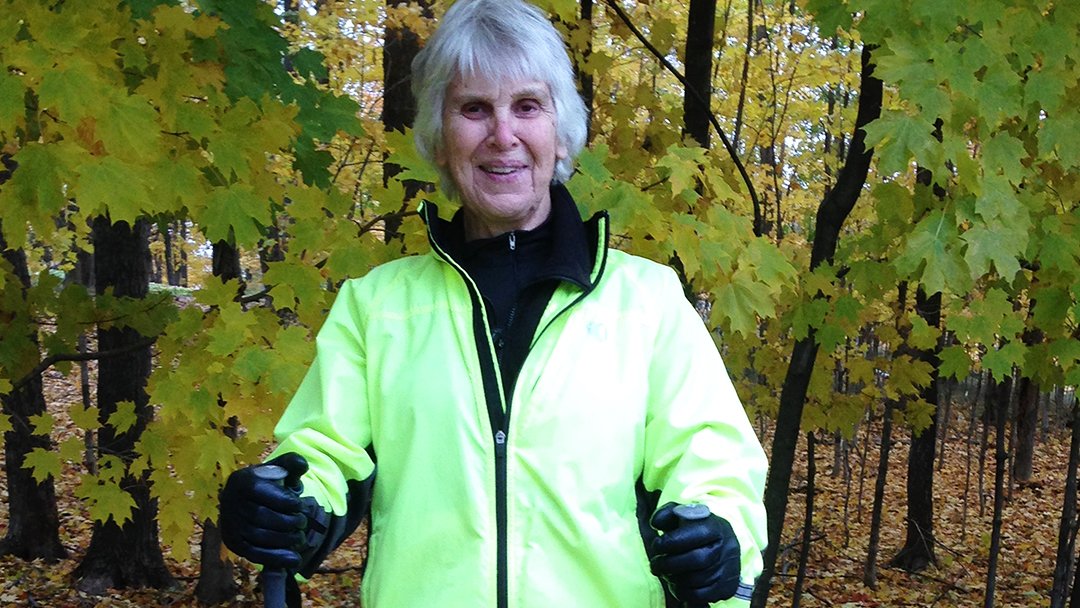 Kathie Hanson went from being an active outdoor enthusiast to being unable to walk without assistance. But the care she received at Mayo Clinic has again allowed her to take part in the many activities that fill her life with joy.