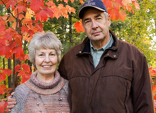 Couple Buoyed by Mayo Clinic Care in Sickness and Health