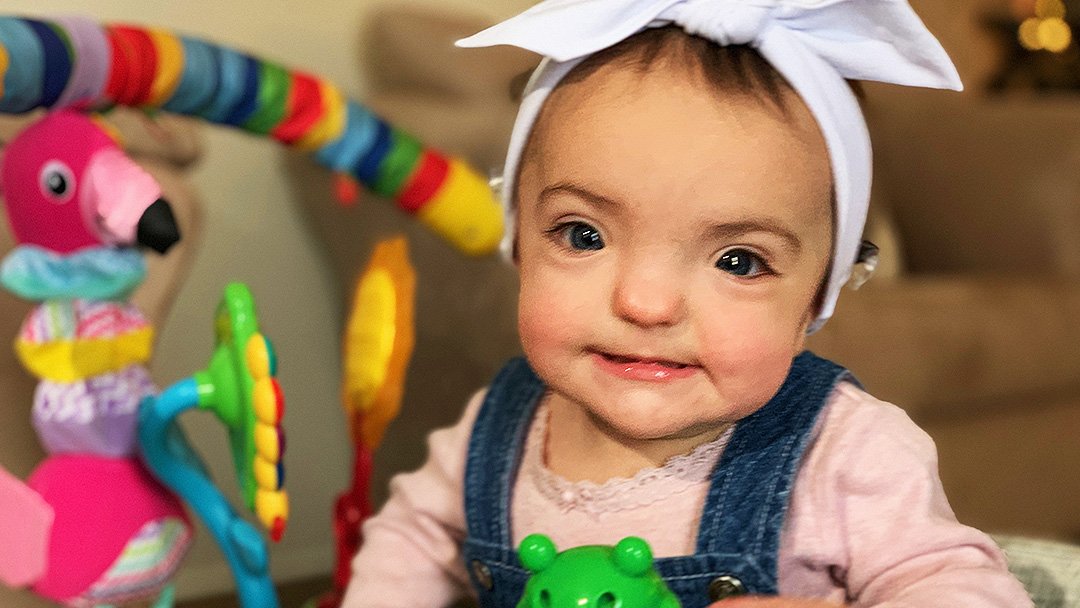 When Melinda and Matt Little found out their baby girl, Aida, was deaf, they wanted to do everything they could to enable her to hear. A multidisciplinary team at Mayo Clinic helped them achieve that goal.