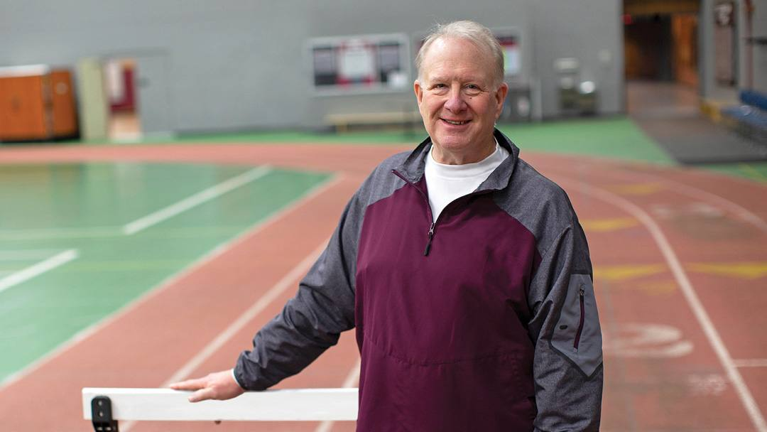 A suspicious finding during a routine physical led to a diagnosis of coronary artery disease for Mark Guthrie. Heart surgery quickly followed, and now the longtime track and field coach is back to work and feeling great.