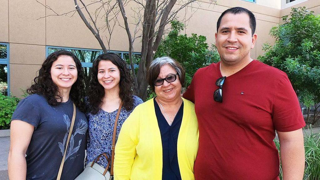 Maesy Ramirez, Kelsey Ramirez-Macias, Sophia Remirez and Jose Ramirez.
