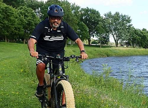 Pedaling His Way to a Successful Heart Transplant