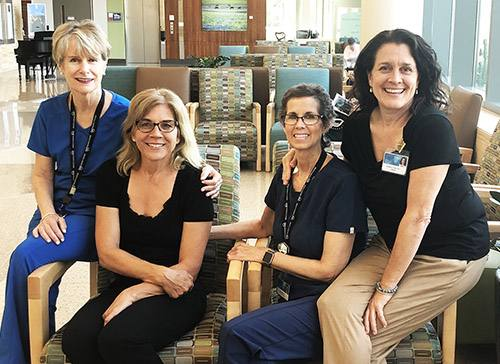 'Trio of Angels' Provide Care and Comfort for Breast Cancer Patient