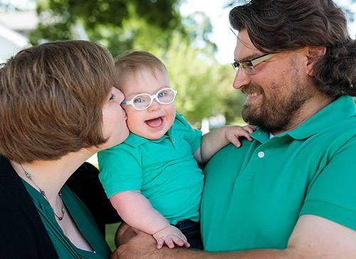 Rewriting the Script for Parents of Babies With Down Syndrome