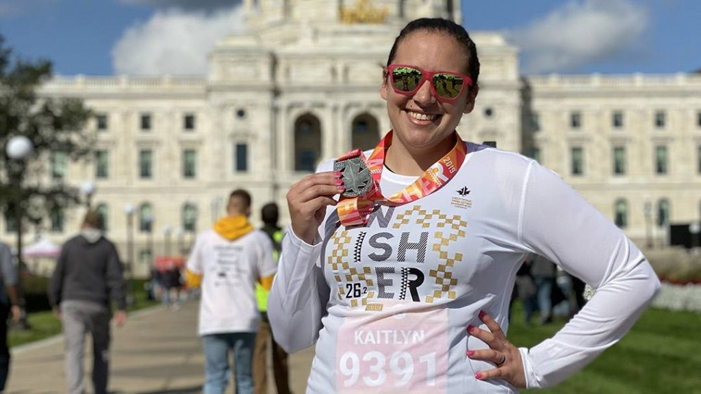 After a decade of running 5Ks, 10Ks and half-marathons, pain was keeping Kaitlyn Johnson from the sport she loved. Though she feared her running days were over, a comprehensive treatment plan developed by Mayo Clinic Sports Medicine allowed Kaitlyn to get back to running and achieve one of her biggest personal goals.