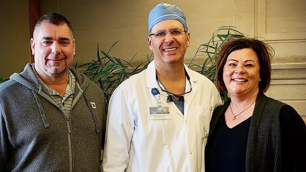 Before coming to Mayo Clinic, Tammy Olson had been told the severe obstructive sleep apnea she'd been living with for years was beyond treatment. After meeting Christopher Viozzi, M.D., D.D.S., a Mayo Clinic oral and maxillofacial surgeon, however, Tammy found the help she so desperately needed.