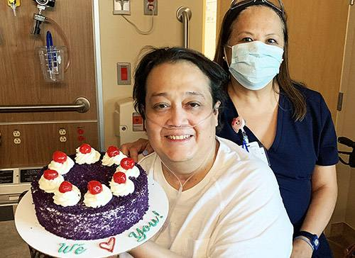 After 165-day stay, transplant patient says 'I'm in the safest place I can be'