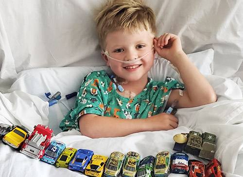 Complex heart surgery gives 6-year-old a second chance at childhood