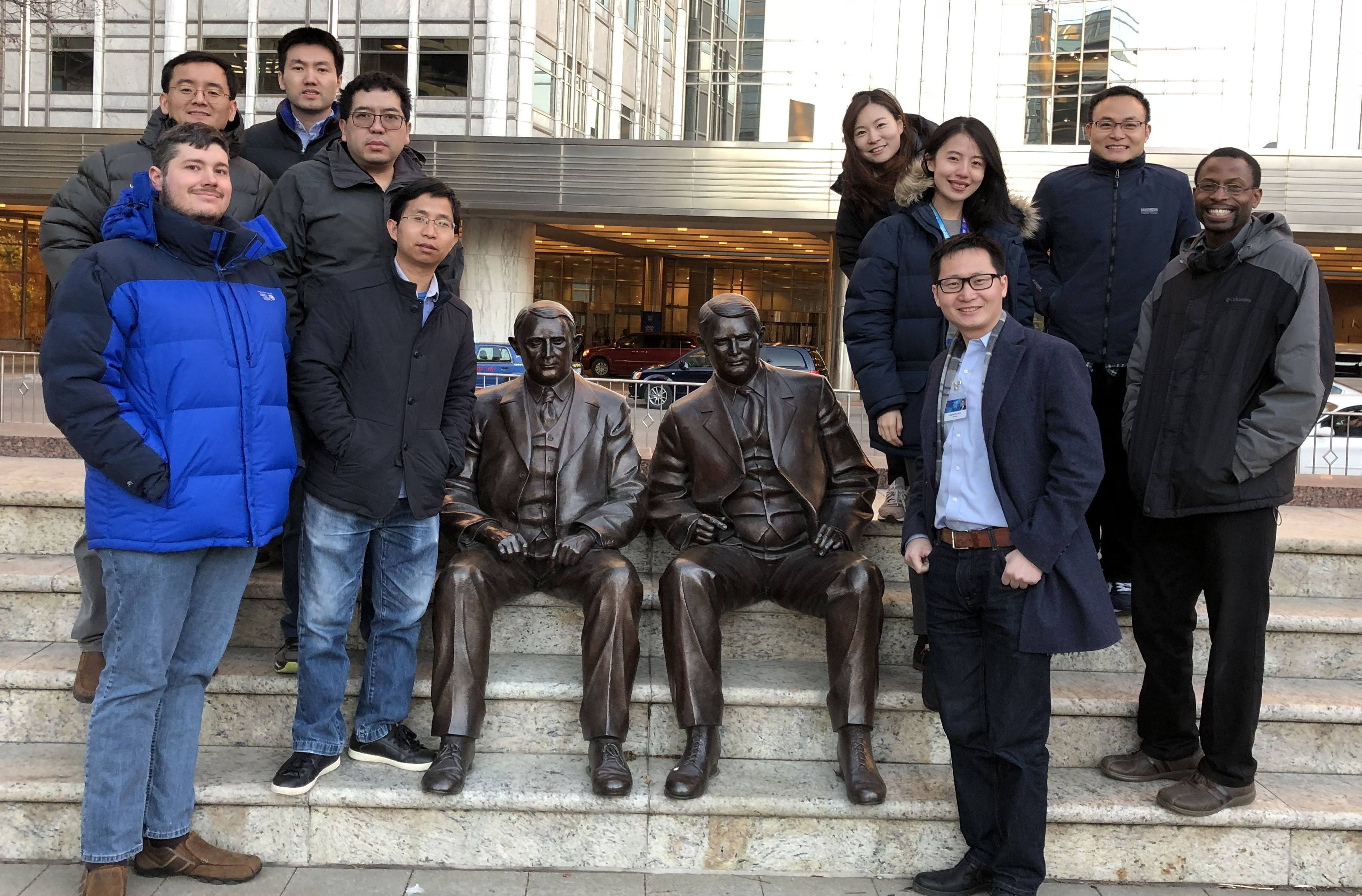 Wu lab at Mayo Dec 2017