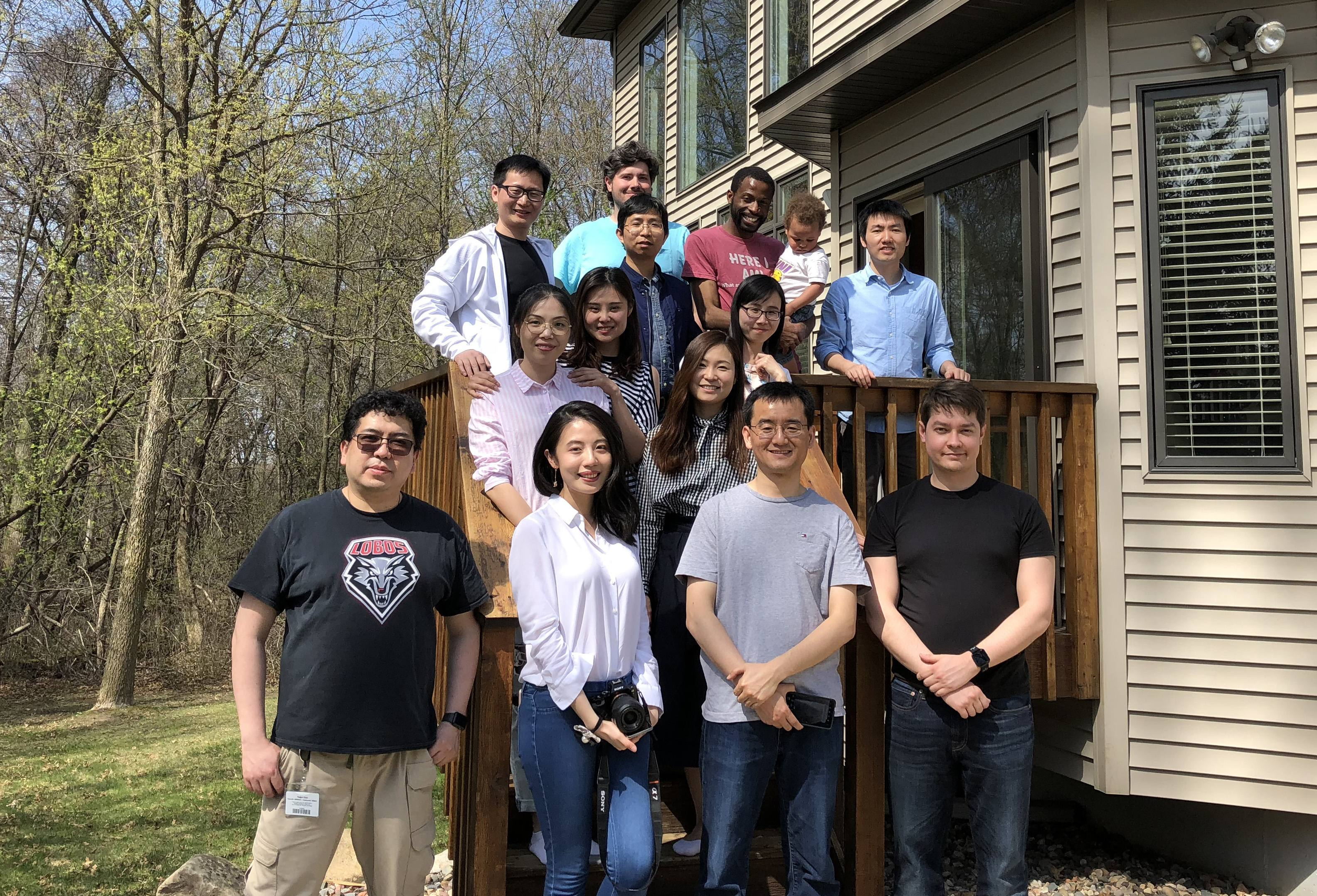Farewell party for Jiyun May 2018