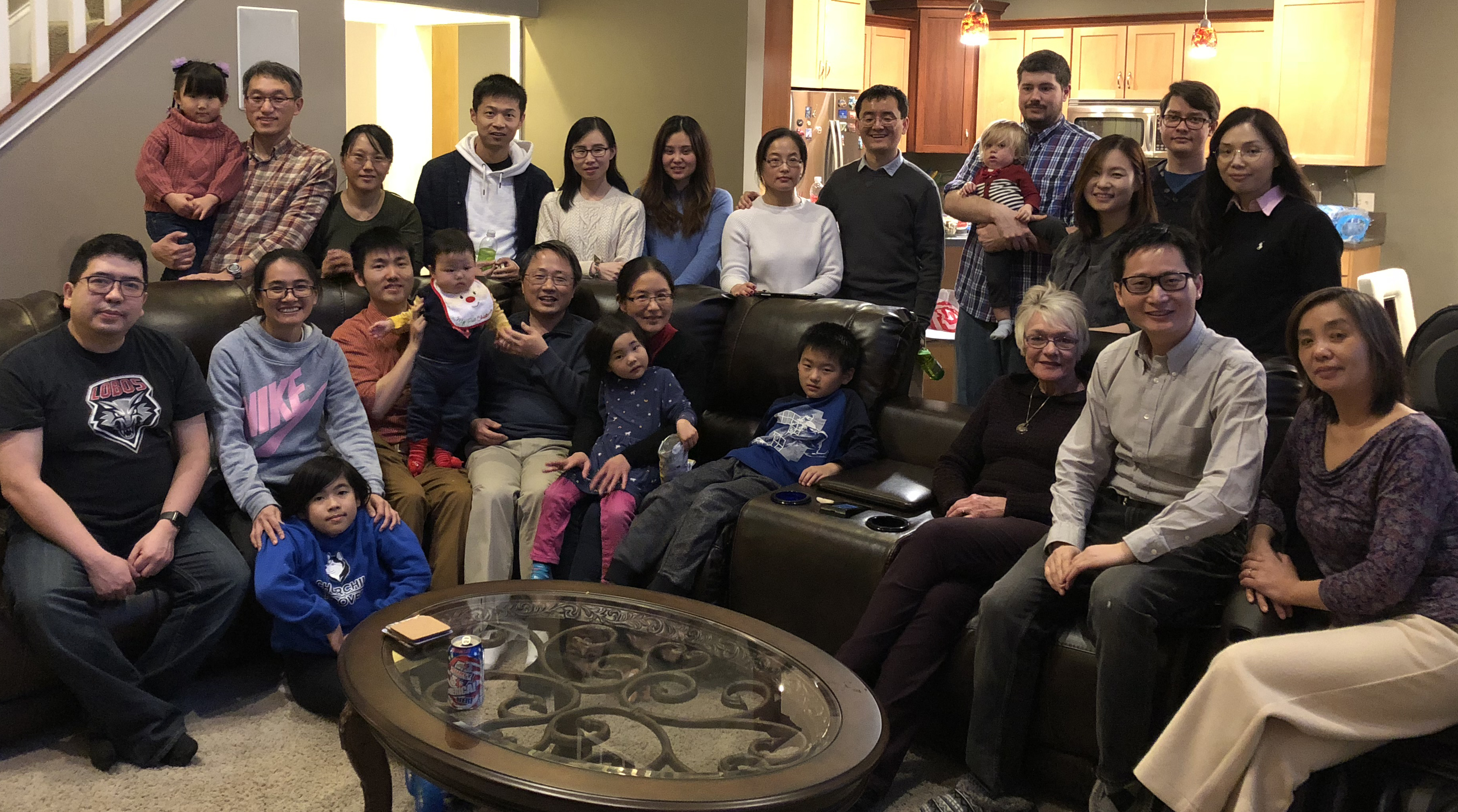 Wu lab Christmas party (Dec, 2018)