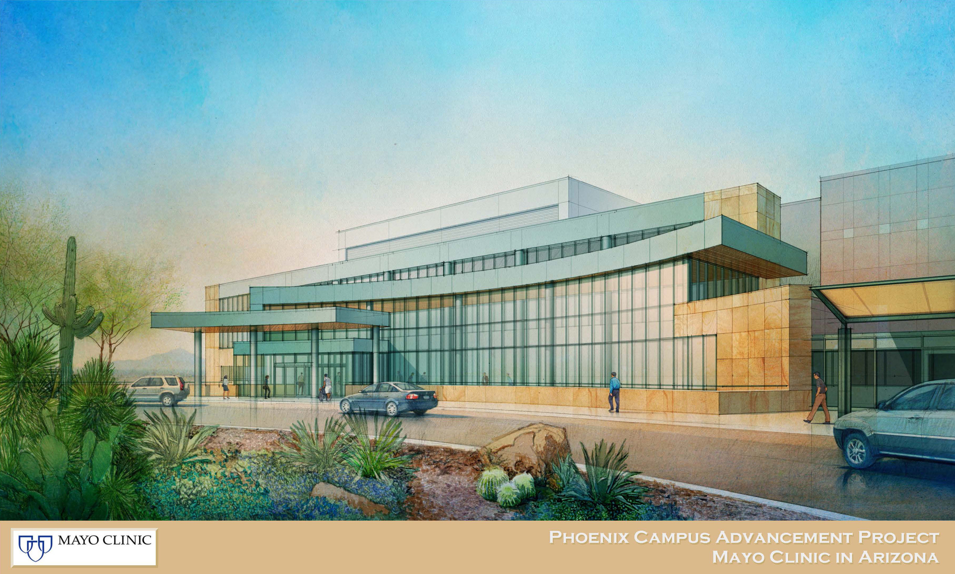 Major Expansion for Cancer Center on Mayo Clinic Campus in
