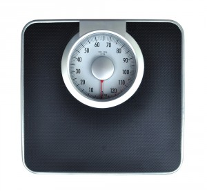 picture of foot scale for weighing people