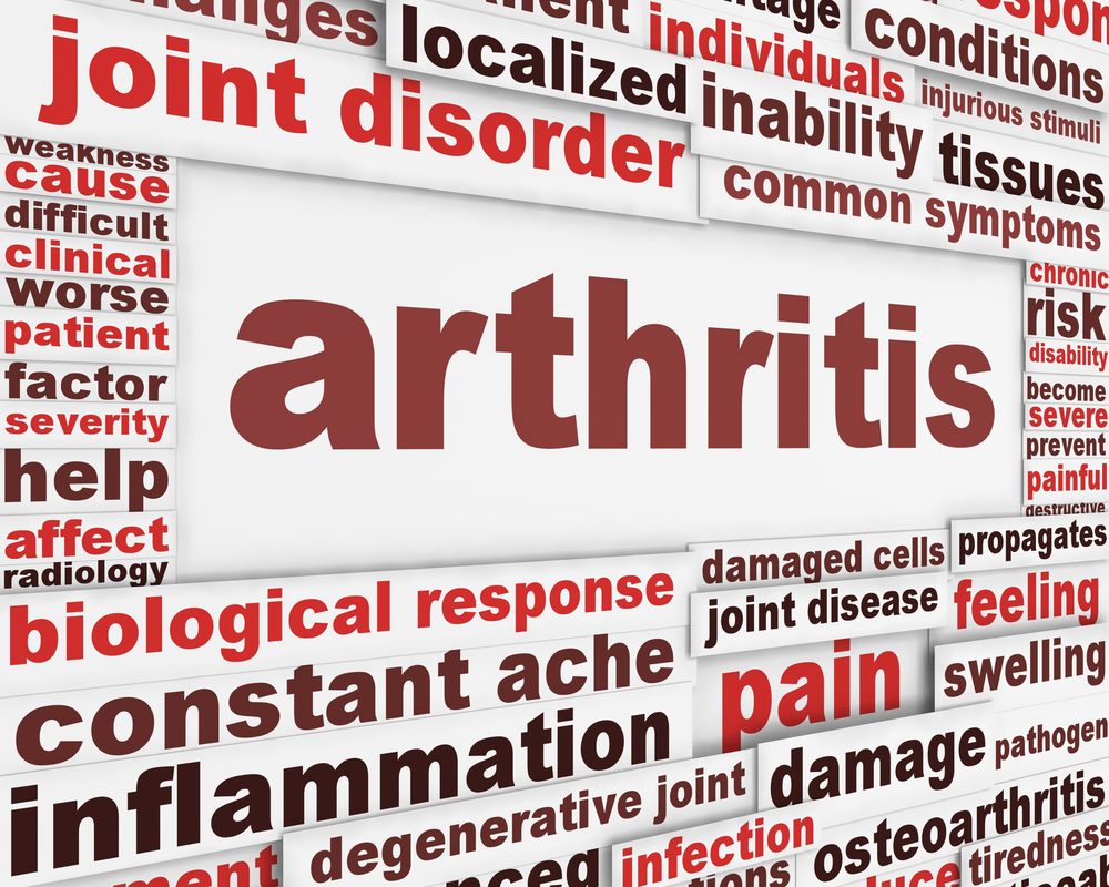 arthritis word art