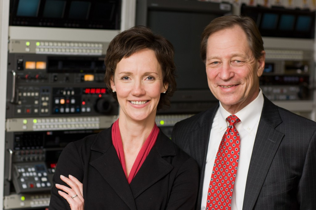 Dr. Tom Shives and Tracy McCray - co-hosts for Mayo Clinic Radio