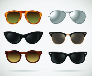 Picture of 6 pairs of sunglasses