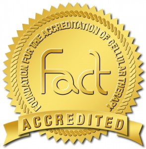 FACT seal of accreditation