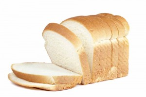loaf of white bread cut in sandwich slices