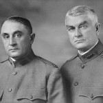 Mayo brothers in military uniform.