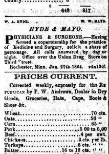 Hyde & Mayo newspaper clipping_Sesquicentennial