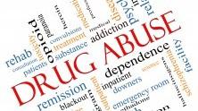 Nube de palabras con términos como adicción, heroína, enfermedad, recaída y drogadicción