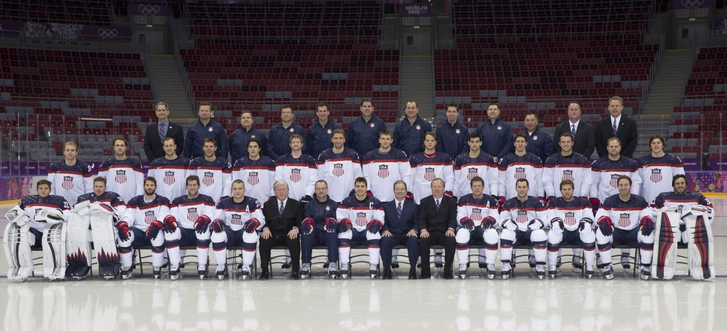 U.S. Olympic Hockey Team 2014