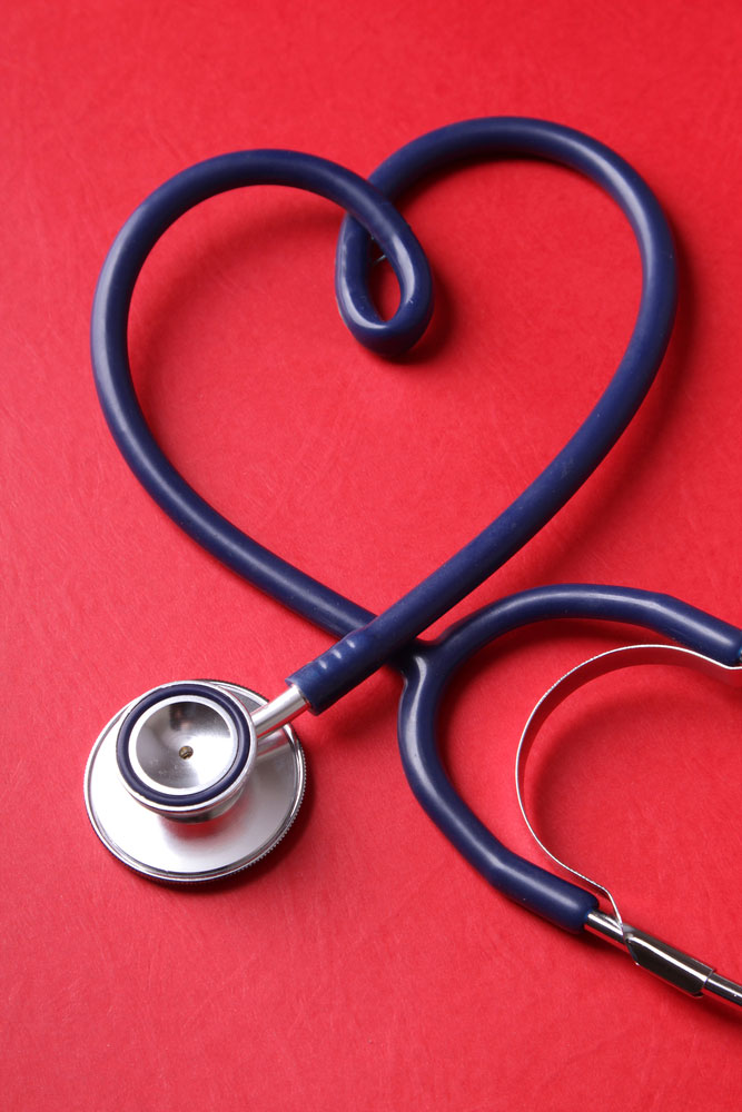 heartshaped stethoscope