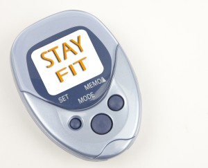 Pedometer for walking