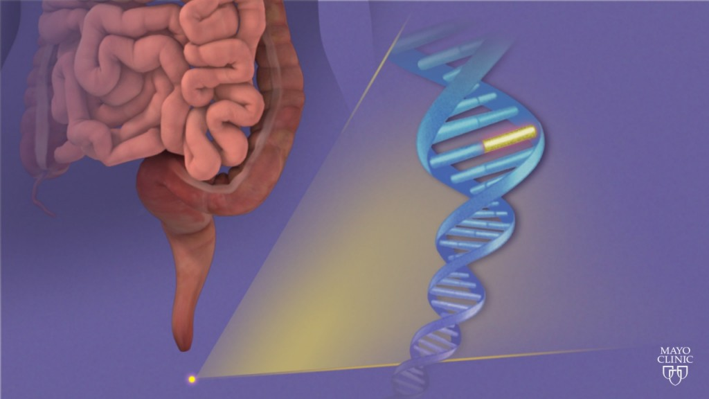 DNA stool animation/image