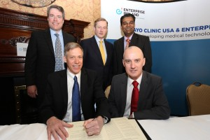 Leadership from Mayo Clinic and Enterprise Ireland Collaboration