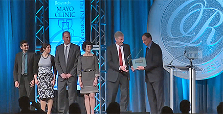 Mayo Clinic team receives Informs award