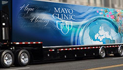 Mayo Clinic Sesquicentennial Mobile Exhibit