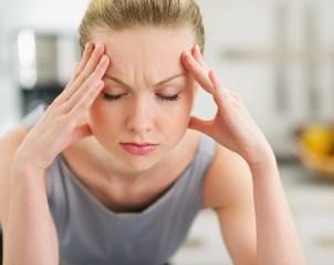 dolor en zona frontal de la cabeza