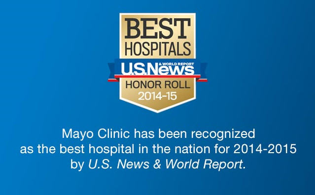 U.S. News Best Hospital Rank banner
