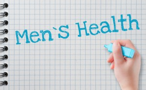 the words Men's Health written on notebook paper