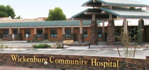 Arizona Wickenburg Community Hospital entrance